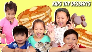 Kids Try Making Pancakes | Mortar and Pastry