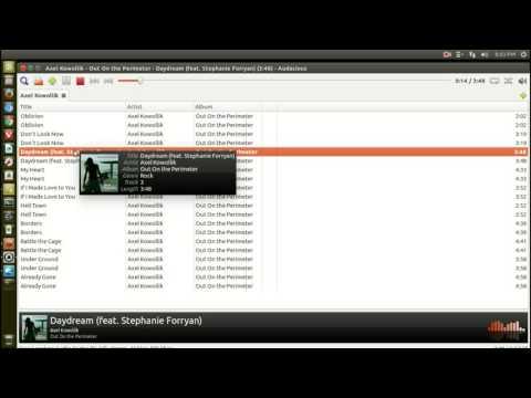 Linux Player Audacious- Nice