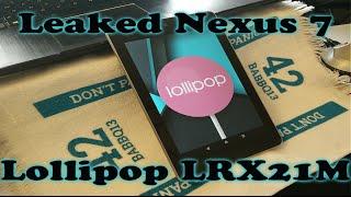 Can the Leaked Lollipop Build Revive the 2012 Nexus 7? Thumbnail