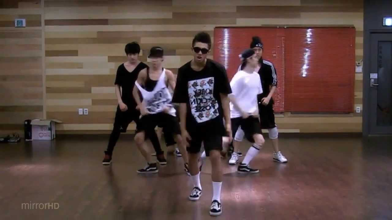 BTS 'No More Dream' mirrored Dance Practice