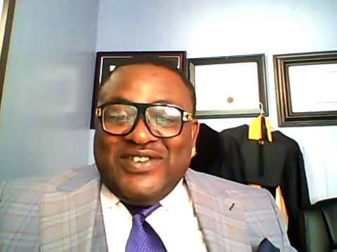 Dr. Nicolas Santos : Addresses The SOUTHERN CAMEROON/AMBAZONIAN problem