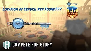 LOCATION OF CRYSTAL KEY FOUND??? - Roblox Ready Player One Event