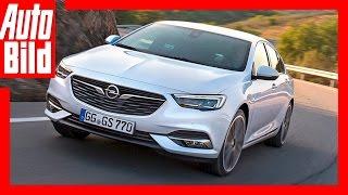 Erste Fahrt im Opel Insignia Grand Sport (2017)