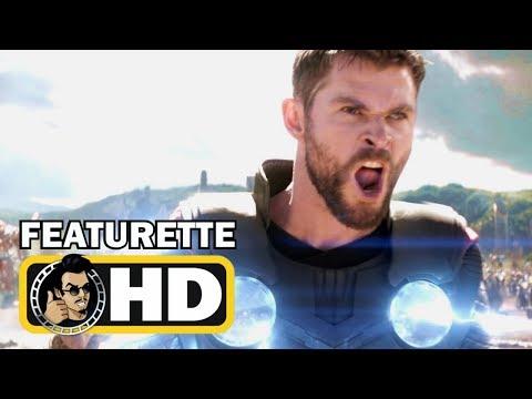 AVENGERS: INFINITY WAR Bring Me Thanos Scene & B-Roll Clip (2018) Marvel