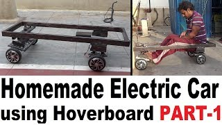 How to Homemade Electric car Using Two Hoverboards. Convert your hoverboard into a car