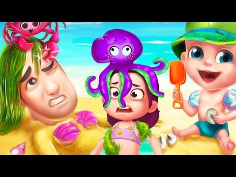 Fun Kids Learn Colors Games | Baby Summer Fun Vacation - Beach Party Fun at the Beach Game For Kids