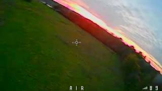 Flying the FullSpeedRC Leader 2.5 at the end of the day
