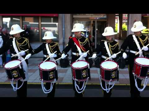 RBL Romford Corps of Drums drum piece Dunkirk 2013