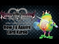 Kingdom Hearts 2.8 HD Birth By Sleep [How To Get Lord Kyroo]