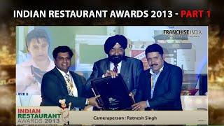 Indian Restaurant Awards 2013  Part 1
