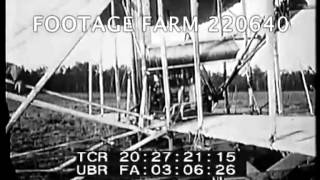 Wright Brothers Flights & Honors Pt2/2  220640-12 | Footage Farm
