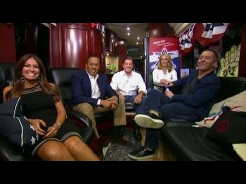 Checking in with 'The Five' on their road trip to Cleveland