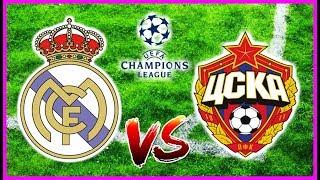 UEFA CHAMPIONS LEAGUE 2018 HIGHLIGHTS REAL MADRID VS CSKA MOSCOW | FIFA 19