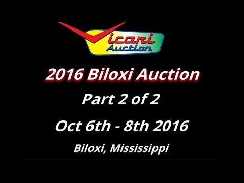 Vicari Auctions: Biloxi 2016 - 2 of 2 - Full Auction Video HD