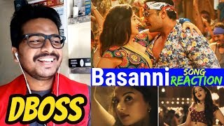 Yajamana  Basanni Song Reaction Video  Challengingstar Darshan  V Harikishna  Yogaraj  Dboss