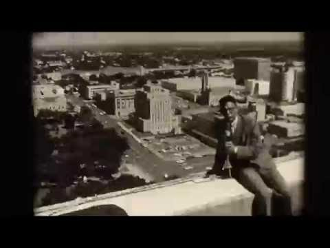 Austin Skyline from top of Westgate Tower   Austin, TX 1966