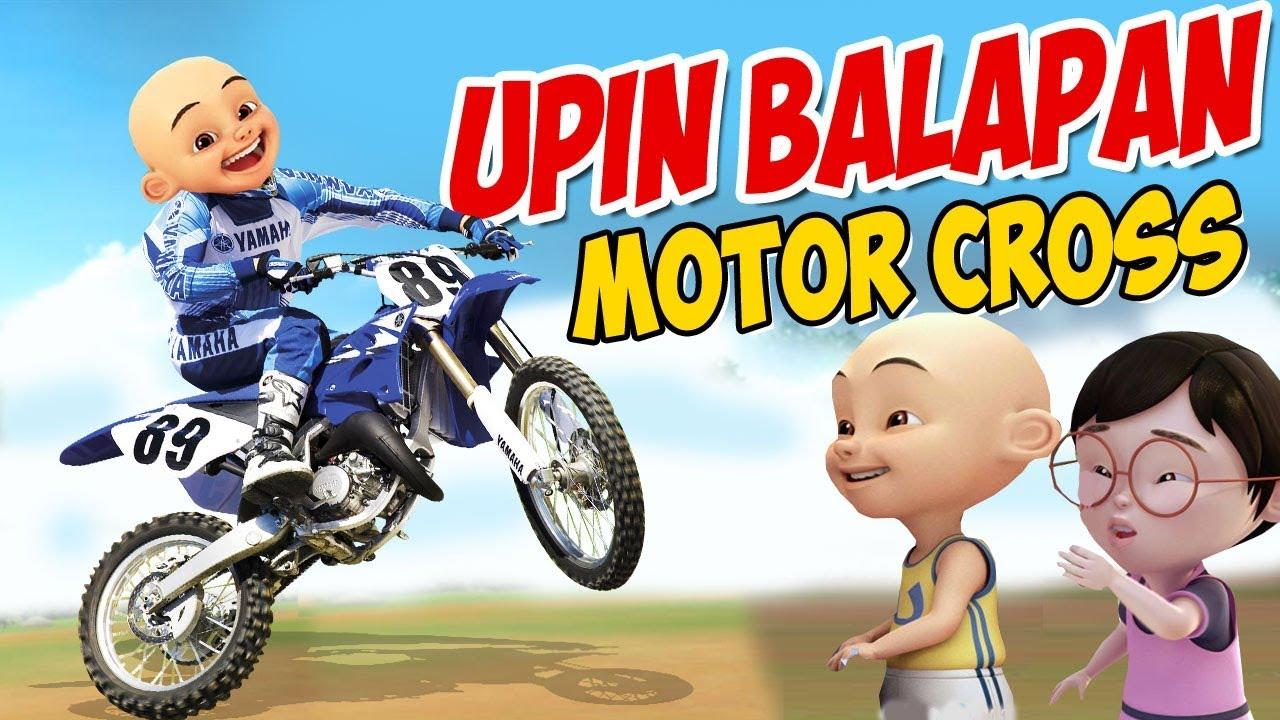Upin Ipin Balapan Motor Cross Ipin Senang GTA Lucu