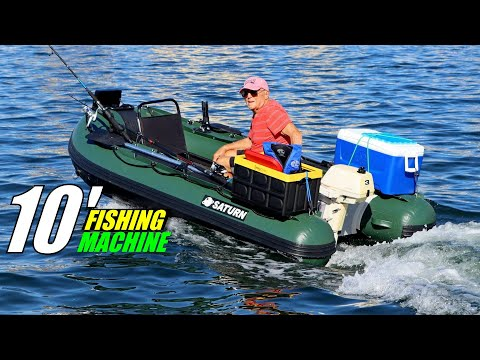 Saturn 10' Fishing Inflatable Boat FB300.