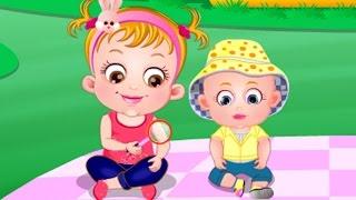 baby hazel learns hygiene kids baby care educative video games dora the explorer