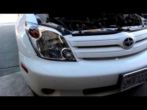 Scion Xa Headlight Assembly Replacement DIY!