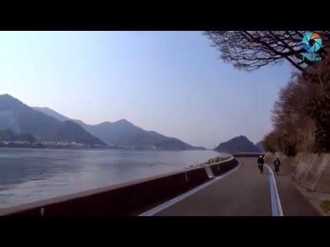 Cycling in Seto Inland Sea