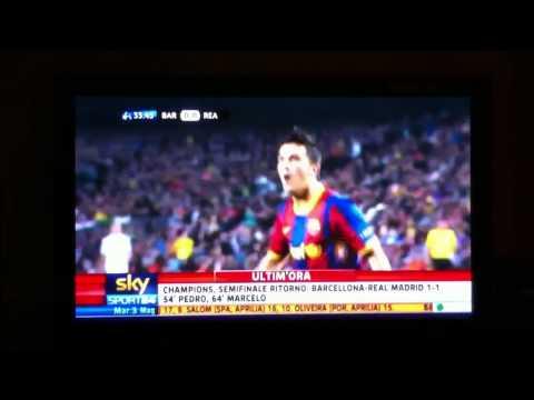 Real Madrid Vs Barcelona Ucl 2011 Highlights