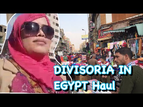 DIVISORIA In EGYPT  HAUL || PINAY In ATABA EGYPT. Part-1