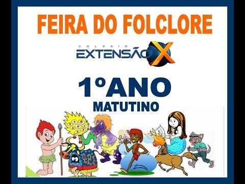 Feira do Folclore 2019 - 1º ano (Matutino)