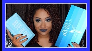 JEFFREE STAR COSMETICS BLUE BLOOD COLLECTION! REVIEW & TUTORIAL