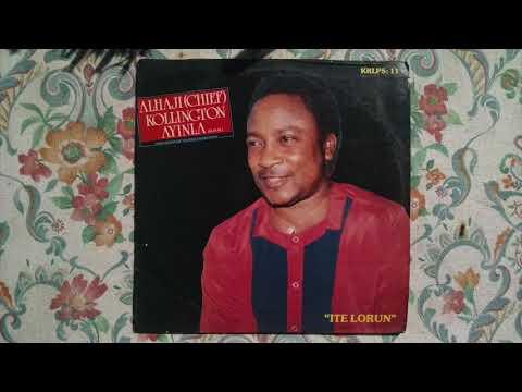 Download Alhaji (Chief) Kollington Ayinla (G.O.H.) And His Fuji '78 Organization – Ite Lorun (Full Album)