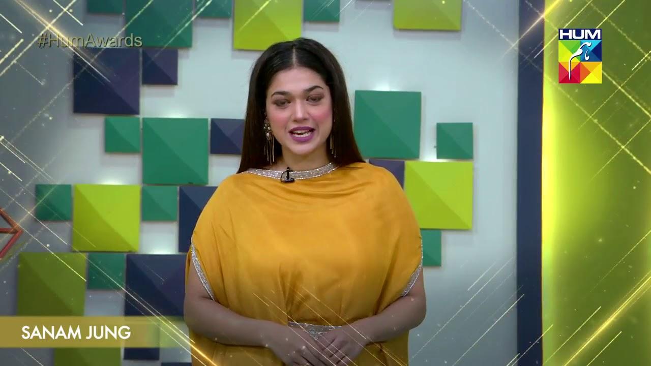 Kashmir 6th HUM Awards 2018 SANAM JUNG