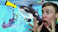 HAI vs TAPPAJAVALAS | Pelataan Hungry Shark World #4