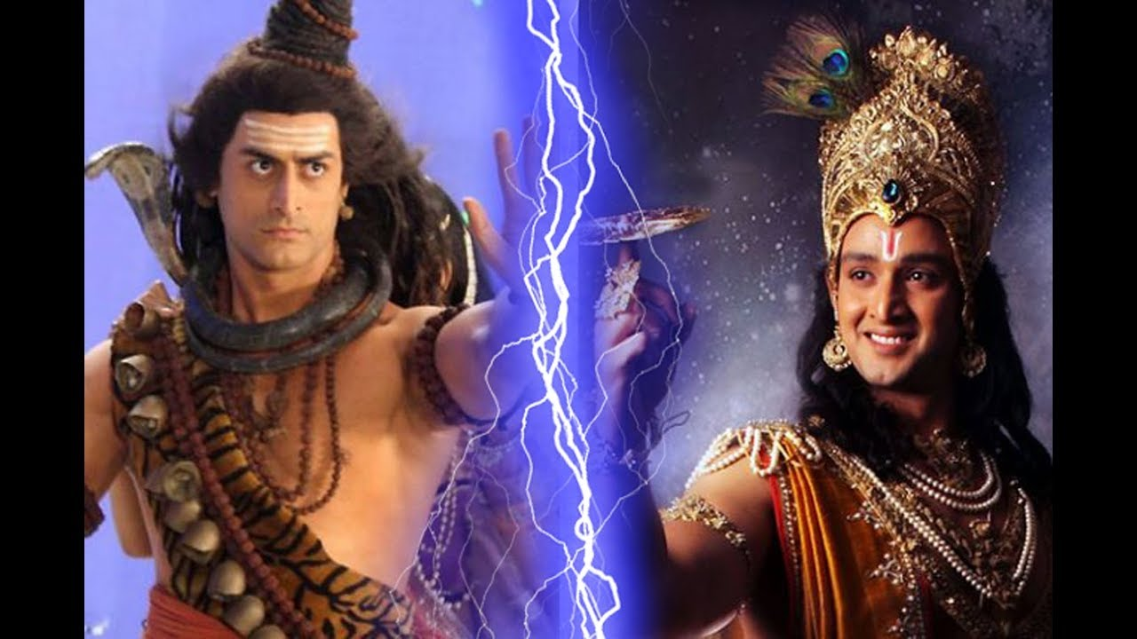 the terrible war between lord shiva and lord krishna war of