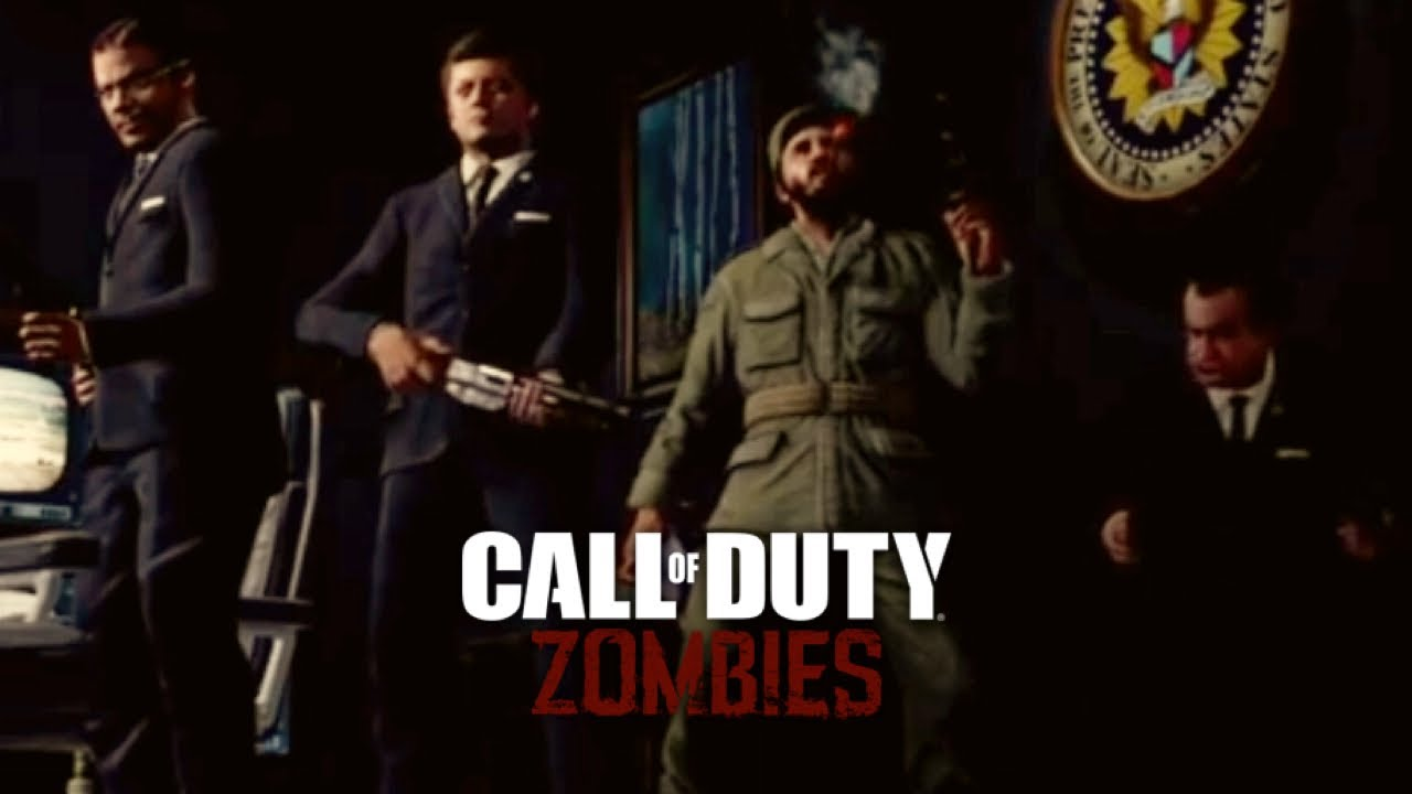 Five Intro Cutscene Call Of Duty Black Ops Zombies Youtube