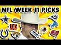 NFL Week 11 Picks Against The Spread 2018