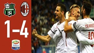 Sassuolo 1-4 AC Milan - Highlights - Matchday 7 Serie A 2018/19
