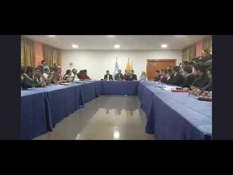Derogación del decreto de las protestas en Ecuador
