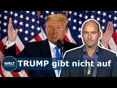 'SCHOCKIERENDE BEWEISE': Trump hat angeblich Belege für eine Wahlmanipulation