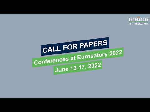 Become a conference speaker Eurosatory 2022