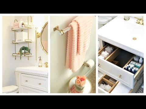NEW! Small Guest Bathroom Makeover & Tour | Before And After