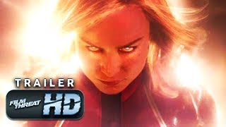 CAPTAIN MARVEL | FIRST Official HD Trailer (2019) | BRIE LARSON | Film Threat Trailers