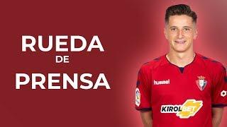 """Miguel Olavide: """"Solo tengo palabras de agradecimiento a Osasuna"""""""