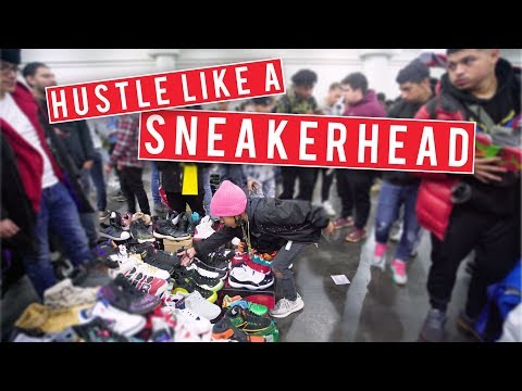 12 Year Old Sneakerhead Hustles Hard