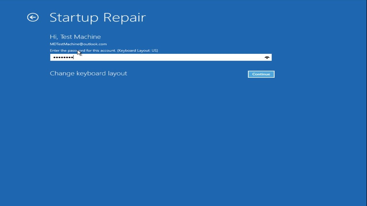 microsoft startup repair tool windows 10