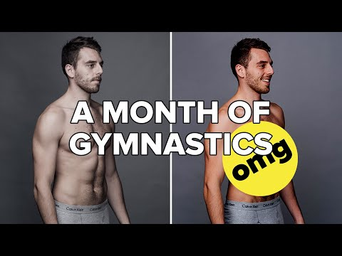 I Trained Like A Gymnast For 30 Days