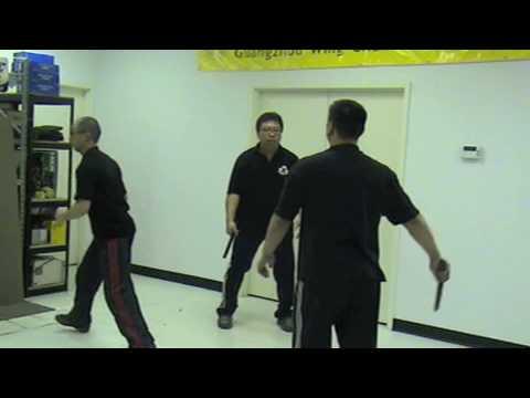 Guang Zhou Wing Chun, Counter Knives Practice 廣州詠春奪刀