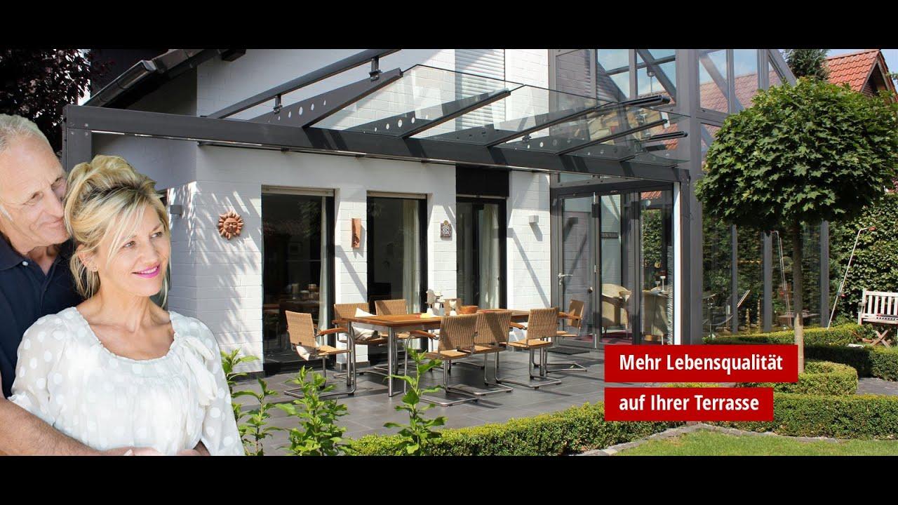 Reismann Lüdinghausen terrassendächer aus metall mit glas gladius hochwertige