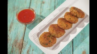Aloo Tikki - आलू टिक्की - Potato Cutlet Recipe By Roopa -  Potato Patty Recipe in Marathi