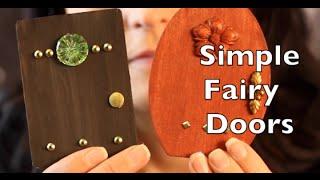 Diy How To Make A Fairy Door   Craft Idea Tutorial
