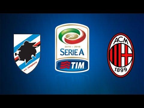 Sampdoria Milan Live Streaming